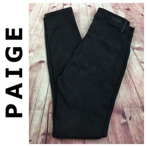 💸Paige black skinny pant in size 27
